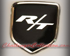 Dodge challenger steering wheel and nose 3d custom badges publicscrutiny Image collections